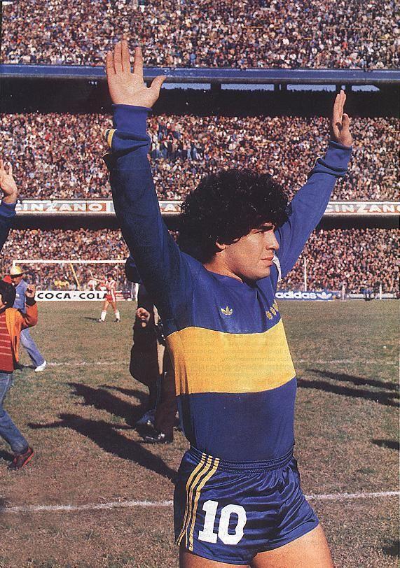 Diego Maradona en Boca, 1981