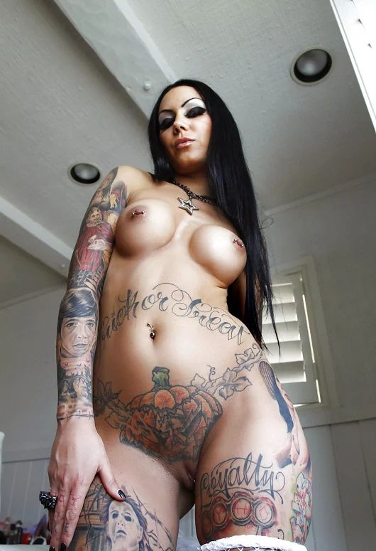 tattoo mexican girl nude