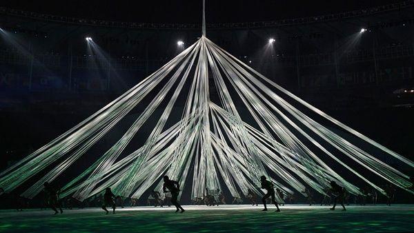 Olympia 2016 Eröffnungsfeier Tänzer