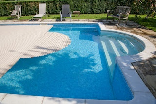 35 best outdoor pools domestic images on pinterest - Domestic swimming pools ...