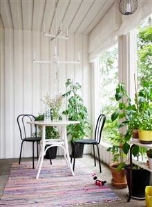 Bistro Table: House Plants, Album Photo, Decor Flower, Crafts Rooms, Collection Inspiration, Bistros Tables, Briqu Rouge, Interior Decorations, Front Porches