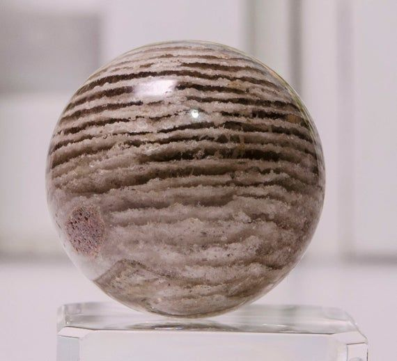 19 mm Phantom Quartz Sphere Clear Crystal Ball Polished Round Bead Chakra/&Reiki-Healing-Gift For HerHim-Jewelry Making-Energy Quartz