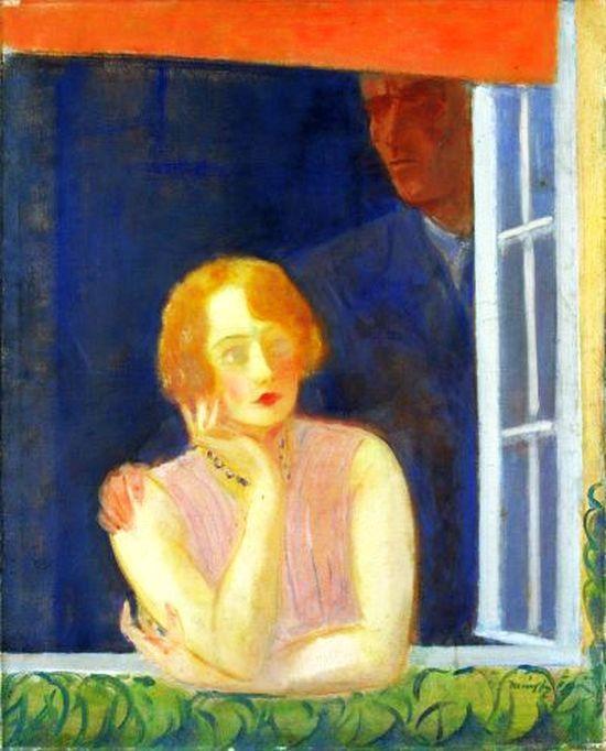 Márffy Ödön (1878-1959) - Last Portrait of Csinszka, after 1934