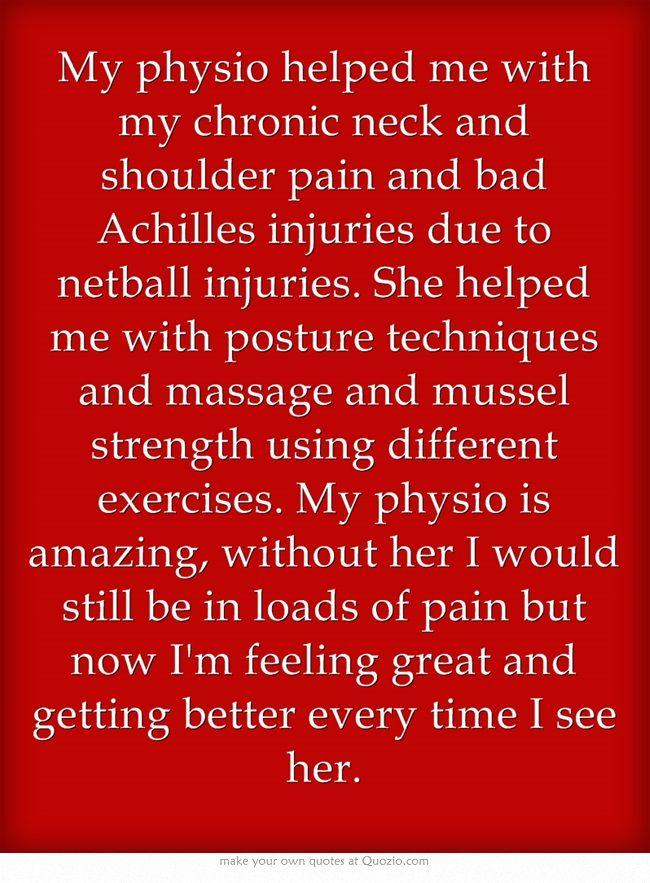 - Natasha Columbus. (Physio, Olivia Batchelor, Sports Therapy Nelson)