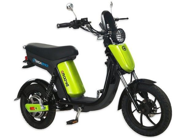 Gigabyke Groove Electric Moped Scooter