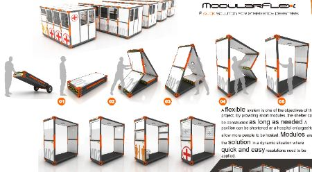 Foldable Disaster Housing That Literally Pops Up | Design on GOOD