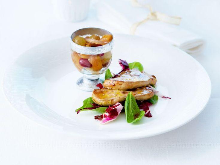 Découvrez la recette Foie gras poêlé sur cuisineactuelle.fr.