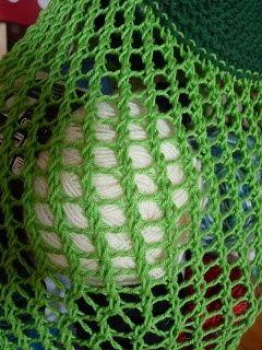 Einkaufsnetz, Grrlfriend Market Bag.  #Stricktechniken  Einkaufsnetz, Grrlfriend…