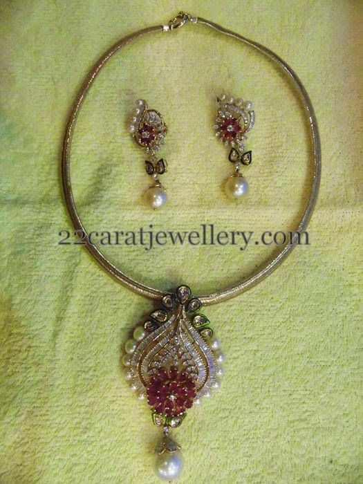 Jewellery Designs: light weight jewellery