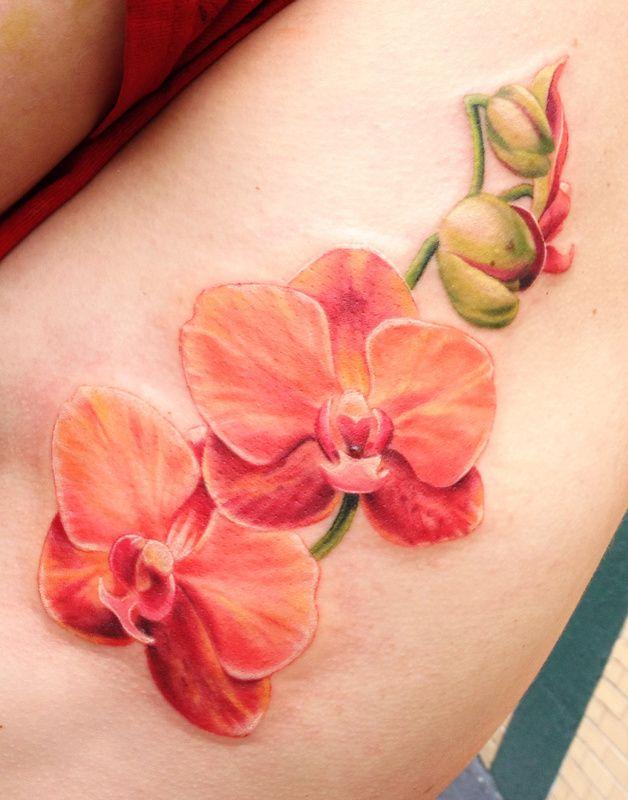 die besten 25 tattoo orchidee ideen auf pinterest orchideenbl tentattoos soft tattoo und. Black Bedroom Furniture Sets. Home Design Ideas