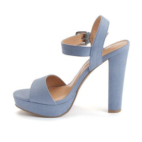 LC Lauren Conrad Romantic Womens High Heel Sandals in
