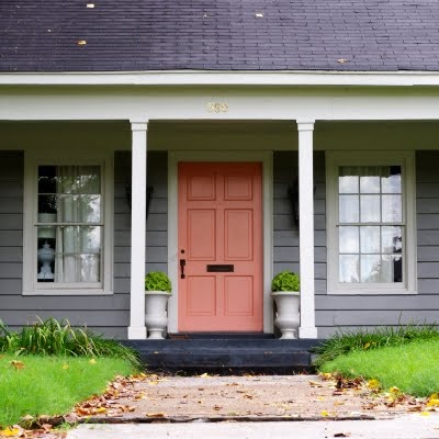 180 best images about cottage doors on pinterest - Door colors for gray house ...