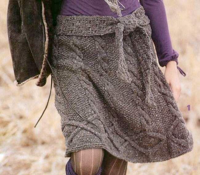 Knit Skirt scheme