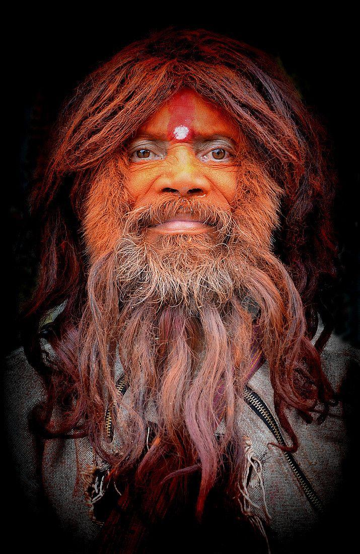 From Nepal, sadhu by sawsengee on Aminus3