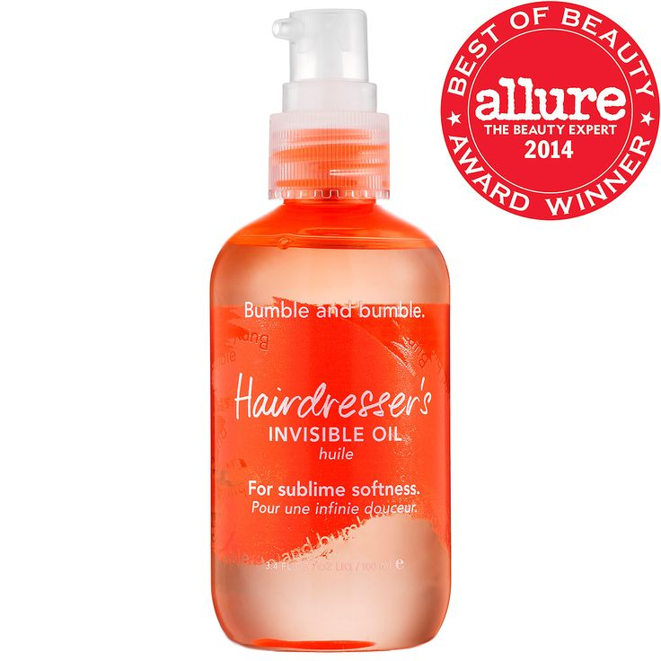 Allure Best of Beauty 2014 winner: Bumble and bumble – Hairdresser's Invisible Oil - #Sephora #hair