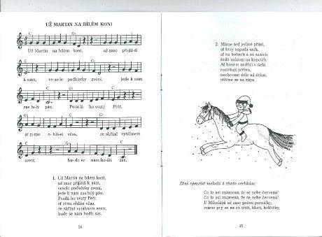 Martin na bílém koni