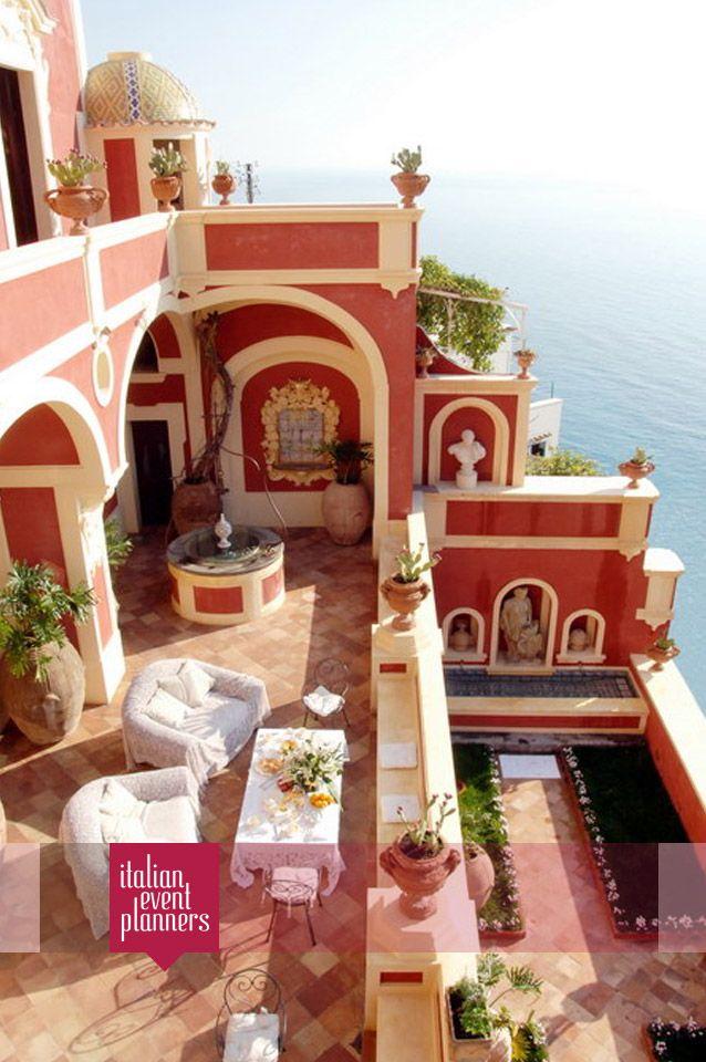 #Splendid #Private_Villa in #Positano for your #impeccable #wedding_in_Italy  http://www.italianeventplanners.com/locations/amalfi-coast/venues/item/127-villa-amalfi-coast-2.html