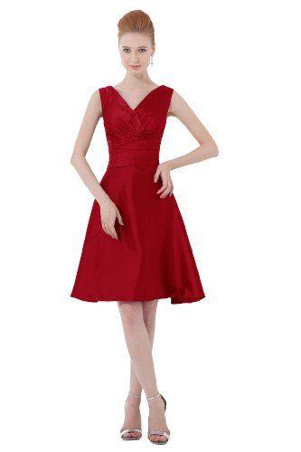 Dresstells Short Purple Bridesmaid Dress Prom Gowns: Amazon.co.uk: Clothing