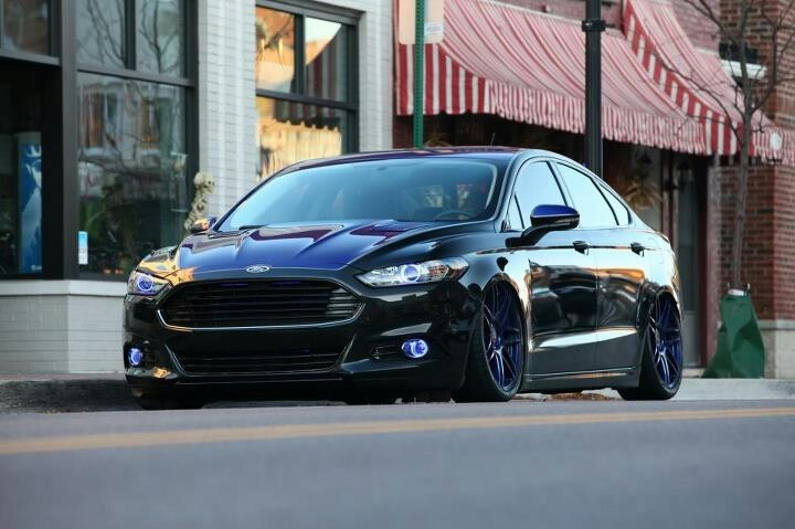 2013 Bagged Ford Fusion Fusion Pinterest Ford Fusion
