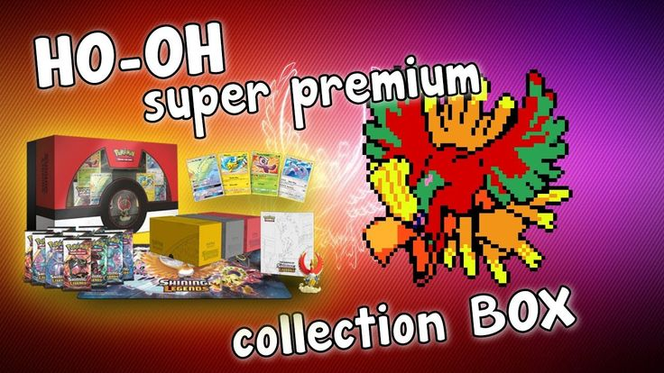 Opening An AMAZING HO-OH Super Premium Collection Box!