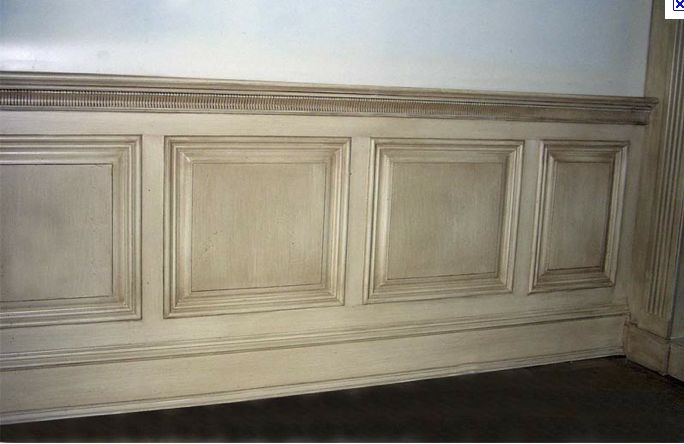 Antique Your Wainscoting By Glazing Wainscoting Dining