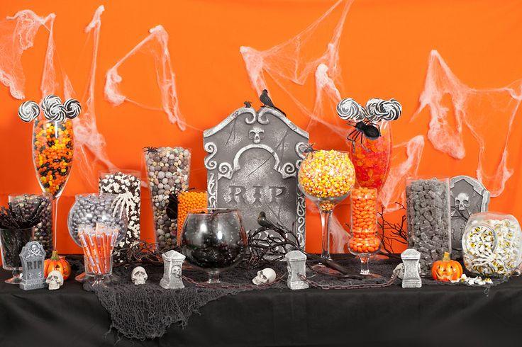 Halloween Candy Buffet! Cute!