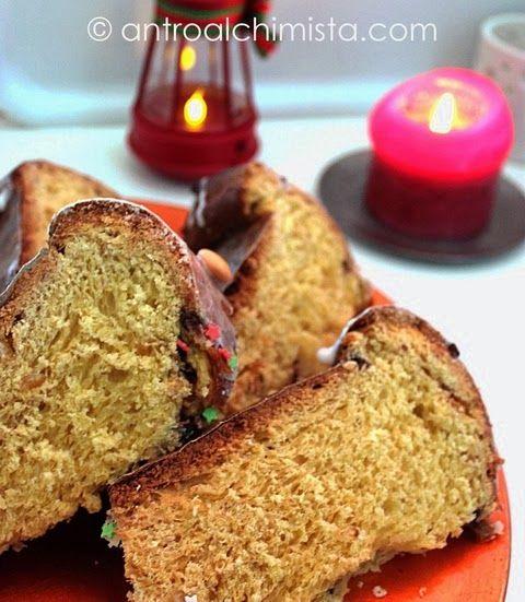 Panettone Veloce con la Macchina del Pane - Fast Panettone with Bread Machine