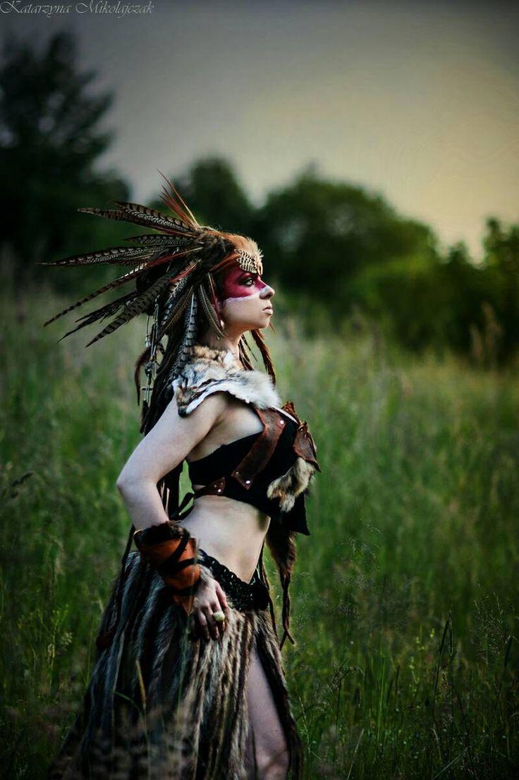 VENTA Traje de Guerrero la piel Cos-Play de cuero por PrimalForged
