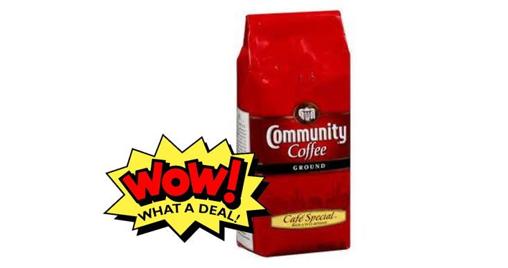 Publix Deal Alert - Community Coffee Bags, as low as $1.80 each, after BOGO sale & printable coupon. Valid 9/6 through 9/12 (9/7 - 9/13)! #coupon #deals #grocery #stores