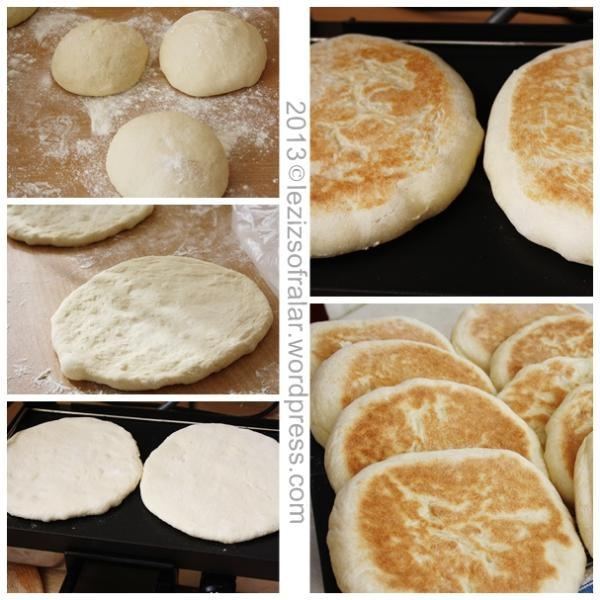 bazlama (turkish bread)