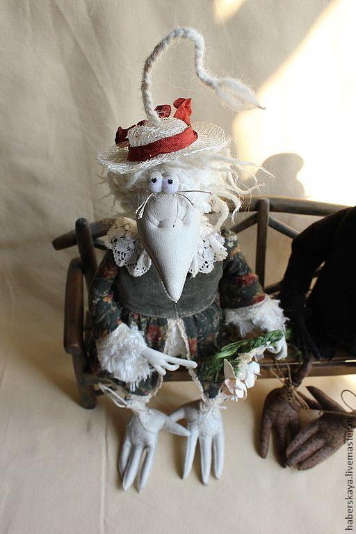 Со свиданьицем - Хаберская,ручная работа,hand made,ворона,ворон,птица