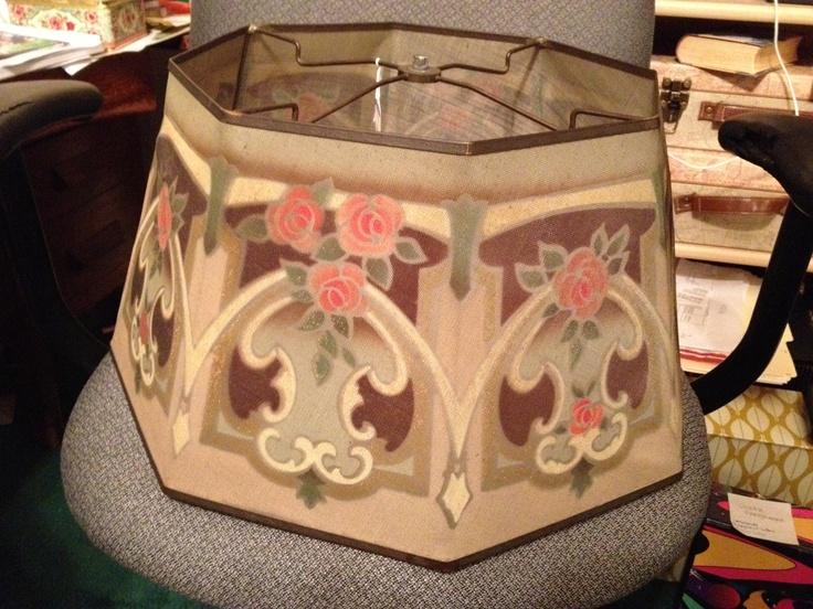 rembrandt lamp co metal mesh shade antiques pinterest. Black Bedroom Furniture Sets. Home Design Ideas