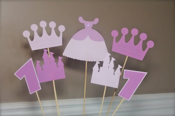 Princess Sofia Dress CakeTopper or Centerpiece by EmelleeGifts, $10.50
