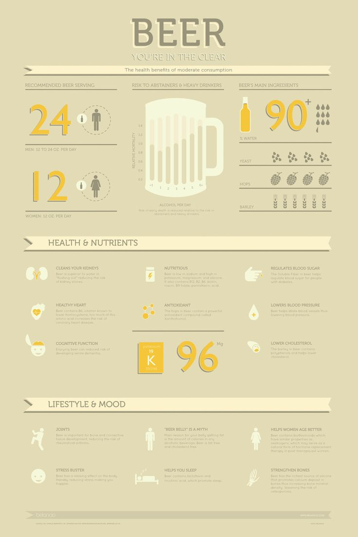 Interesting Beer Infographic