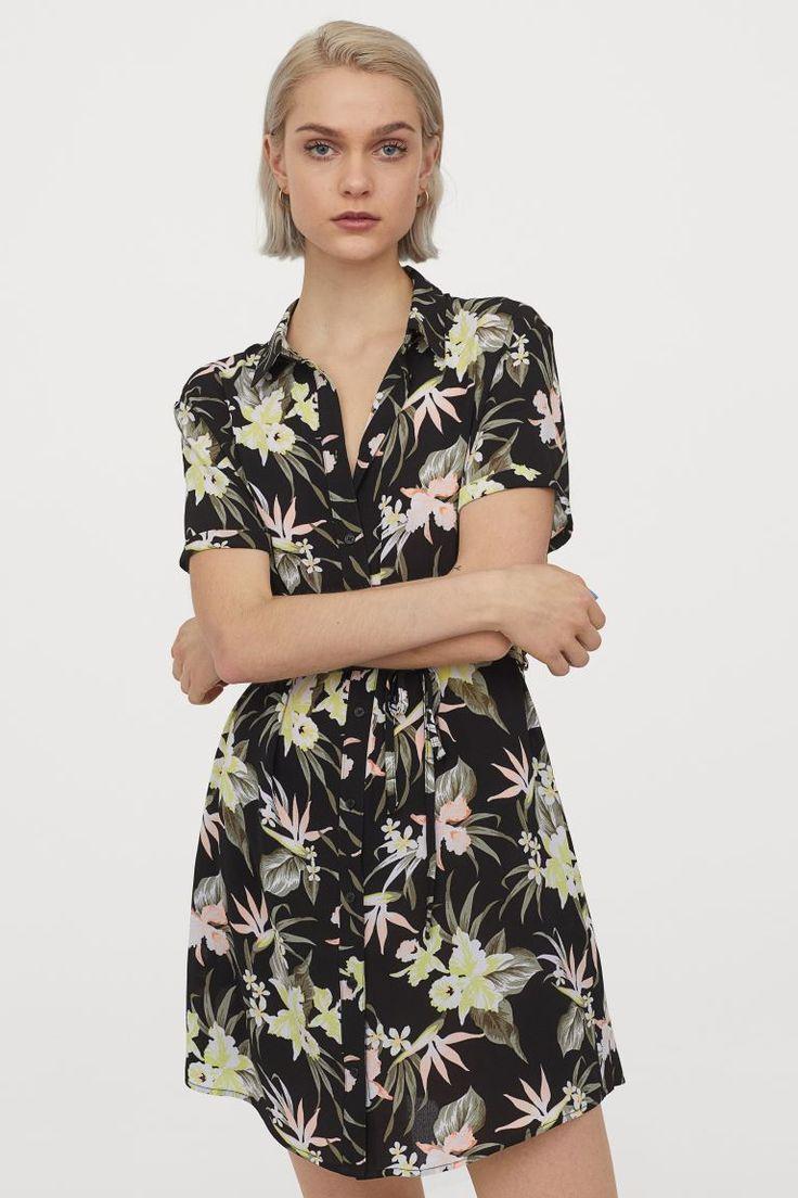 kurzes blusenkleid kurzes hemdkleid kurze kleider blusenkleid
