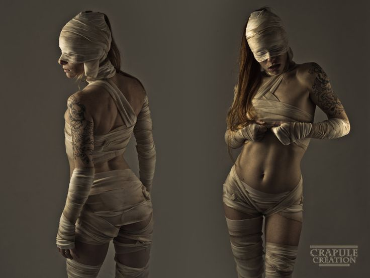 Sexy mummy costume!!