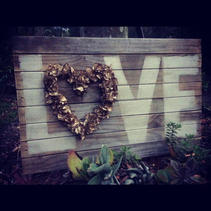 Love signs for your home or wedding!