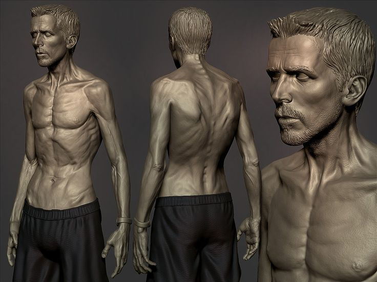 Christian Bale from 'The Machinist' by samar_vijay - Samar Vijay - CGHUB