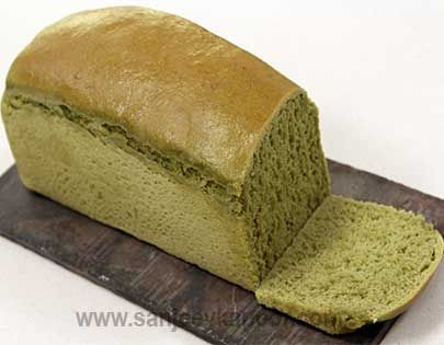 Fresh Herbs and Spicy Bread Loaf - Fresh herbs and green chillies make this bread extremely delicious.