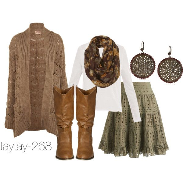 """""""Fall Fashion: Country Woods"""" by taytay-268 on Polyvore"""
