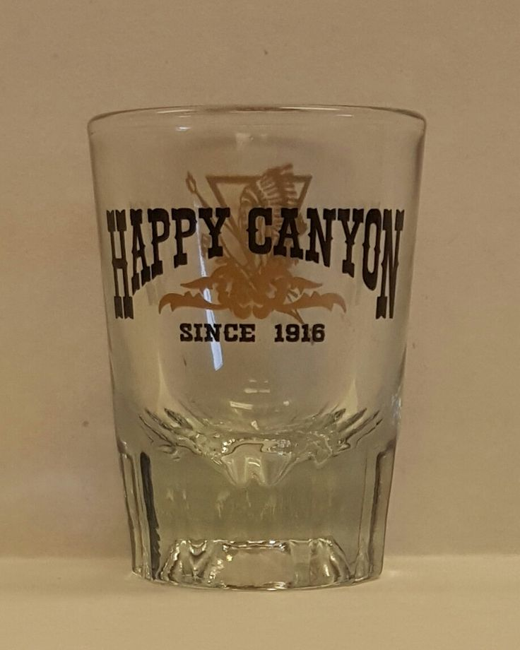 Happy Canyon Traditional Shot Glass
