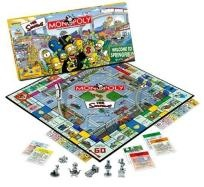 Usaopoly Simpsons Monopoly Collectible