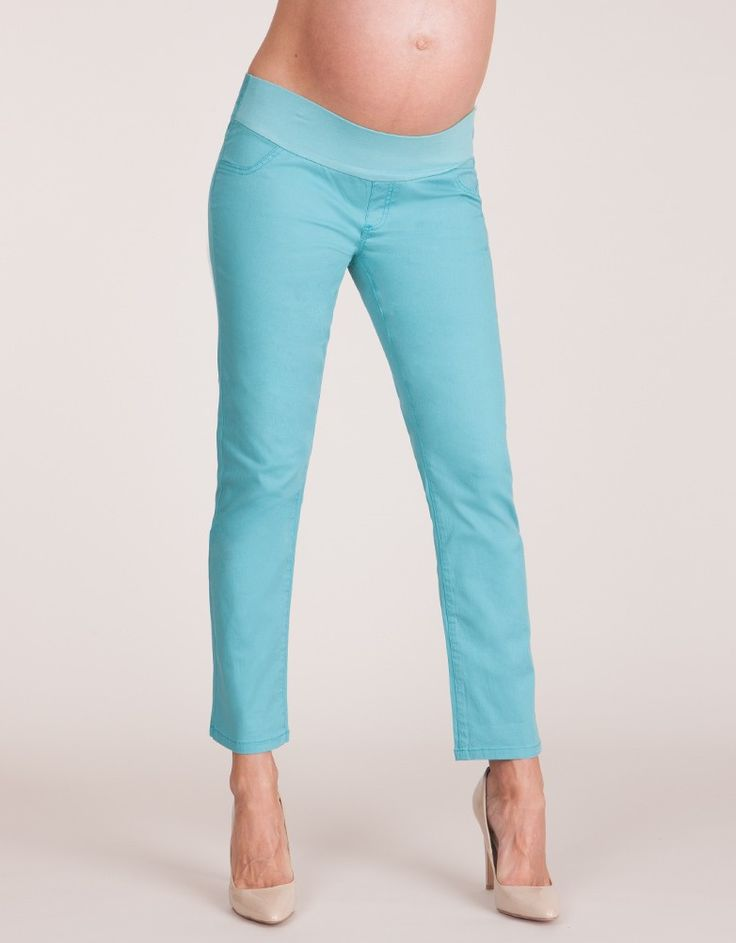 Sea Mist Cropped Jeans | Expecting | Pinterest