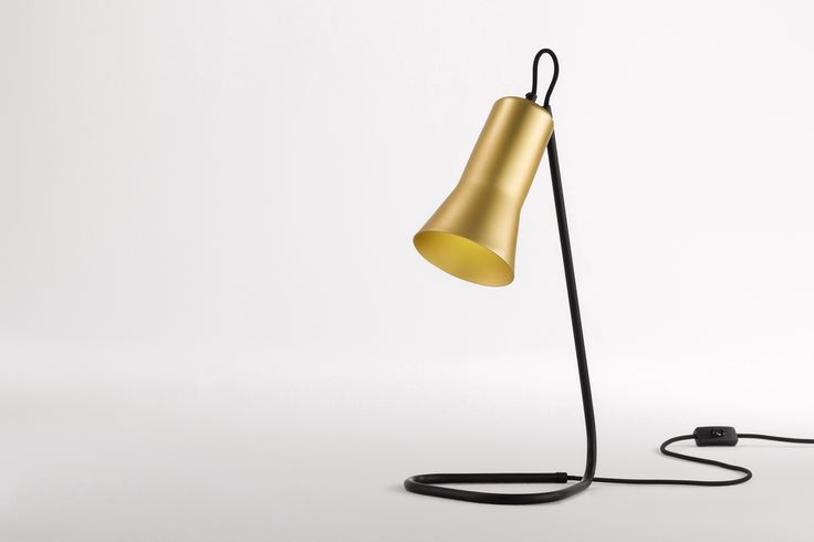 Ross Gardam | Silhouette Lamp in gold anodised
