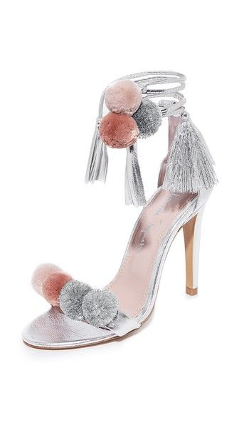What we're shopping during the Shopbop Sale: Alameda Turquesa Anna Pom Pom Wrap Sandals