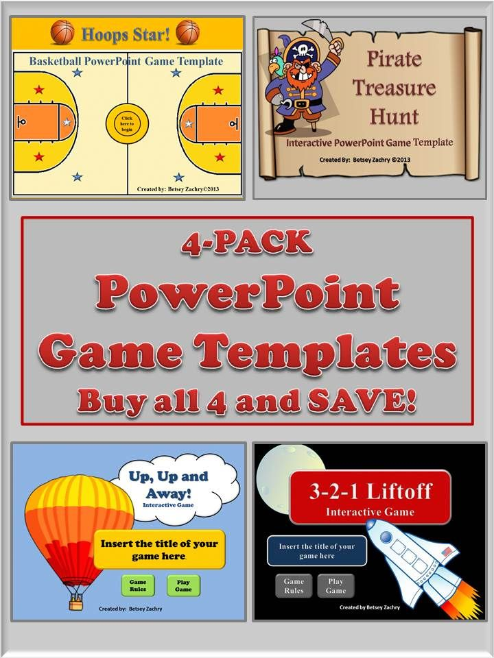 14 best powerpoint game templates images on pinterest classroom buy 4 powerpoint game templates for the price of 3 a toneelgroepblik Image collections