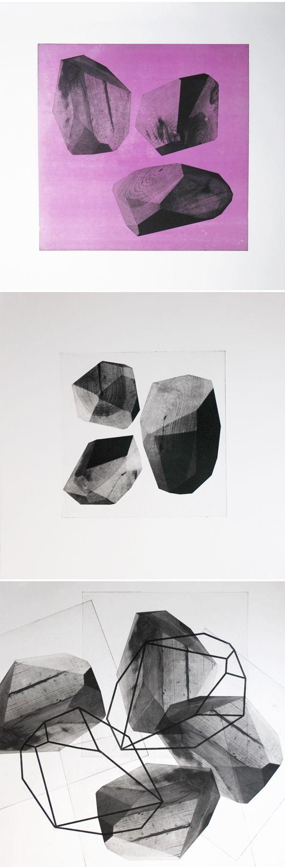 hailey walsh - photopolymer prints