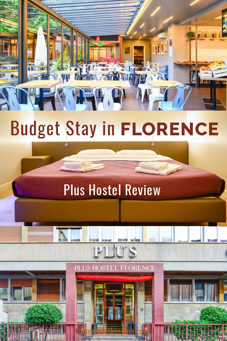 For an expensive city like Florence, finding a budget accommodation can be a challenge so when we found a hostel in a central location with the facilities of a luxury hotel– Turkish bath, a gym, steam and sauna room, indoor and outdoor swimming pools, pool bar, rooftop terrace, we jumped with joy! It's like hitting a jackpot with its affordable price and fancy amenities! PLUS Florence is certainly not an average hostel. #Travel #Florence #cheap #budget #Accommodation #hotel #hostel #plus…