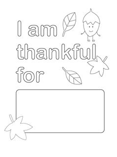 Thanksgiving Coloring Pages - Mr Printables