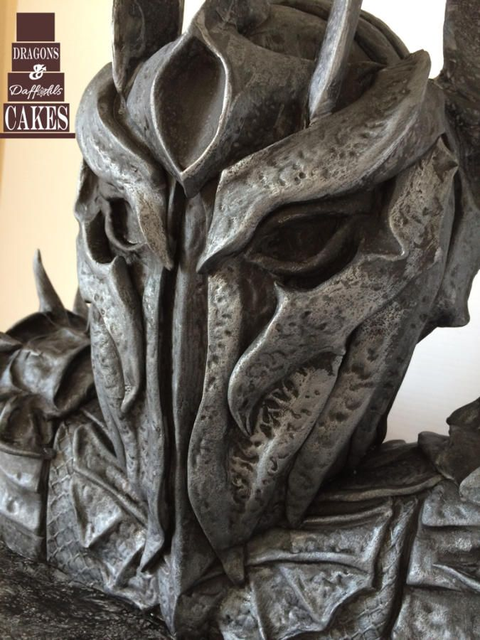 Sauron Lord of the rings cake  by Dragons and Daffodils Cakes
